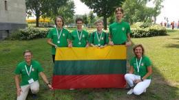 2018 metais tarptautinėse olimpiadose ir konkursuose dalyvavusių mokinių, juos ruošusių mokytojų ir komandų vadovų pagerbimo šventė