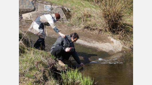 Upių ir upelių tyrimai mokykloje