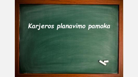 """Seminaras """"Karjeros planavimo pamoka: struktūra, mokymo metodų ir mokymosi veiklų įvairovė""""."""