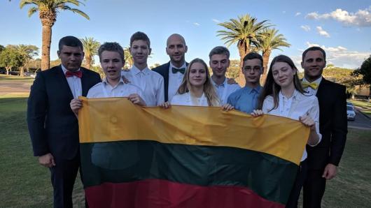 Tarptautinėje gamtos mokslų olimpiadoje Lietuviai iškovojo penkis bronzos medalius