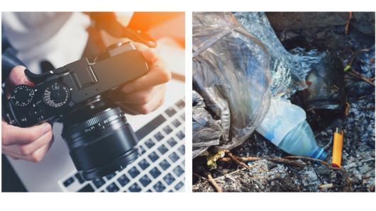 """Fotografijų konkursas """"Kontaktas: žmogaus įtaka gamtai"""""""