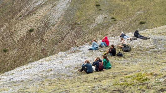 Jaunoji tyrėja Gabrielė Strodomskytė mokslinio darbo įgūdžius tobulino Šveicarijos Alpėse