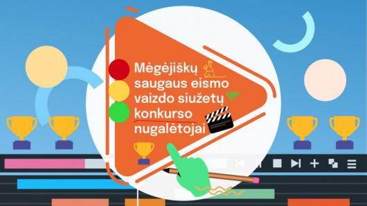 Apdovanoti mėgėjiškų vaizdo siužetų saugaus eismo tema konkurso nugalėtojai