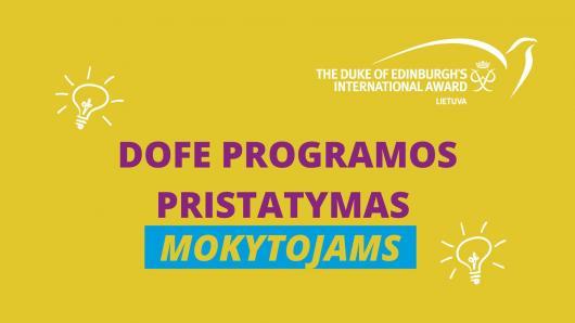 DofE programa: kas tai ir kodėl verta dalyvauti?