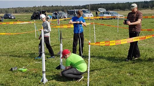 Lietuvos mokinių kosminių modelių sporto varžybos
