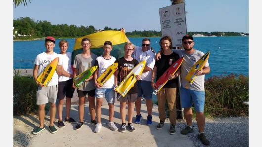 2019 metų vasara buvo labai sėkminga tarptautinėse laivų modelių varžybose dalyvavusiems Lietuvos mokiniams!