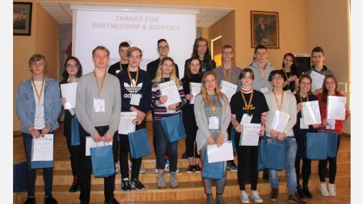 Palangoje vyko Respublikinis anglų kalbos konkursas