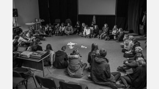 """Sugrįžtantis projektas """"Kino knyga"""" kviečia mokinius dalyvauti kūrybinėse kino dirbtuvėse"""