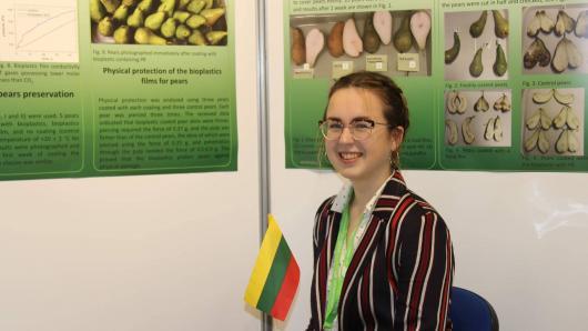 Jaunoji tyrėja iš Lietuvos įvertinta už kovą su globaliu maisto švaistymu