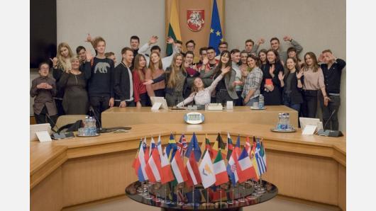 Jaunieji politologai rinkosi į žiemos sesiją
