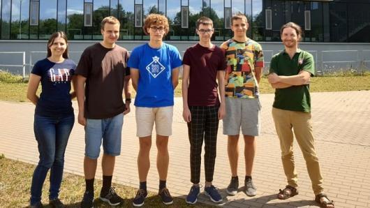 Tarptautinėje biologijos olimpiadoje laimėti keturi medaliai!