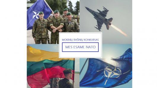 """Vyksta mokinių rašinių konkursas """"Mes esame NATO"""""""