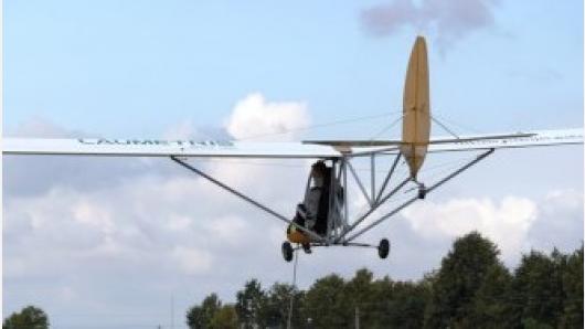 B. Oškinio vaikų aviacijos akademija pradeda skraidymo sezoną