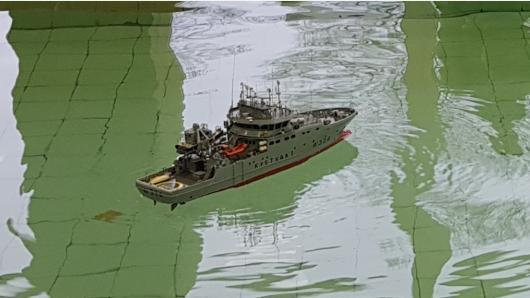 Vilniuje varžėsi Lietuvos ir Latvijos laivų modeliuotojai