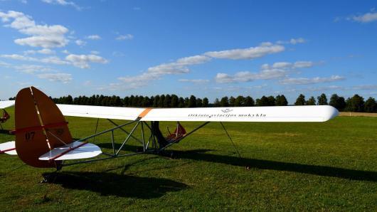 Broniaus Oškinio vaikų aviacijos akademijos pranešimas