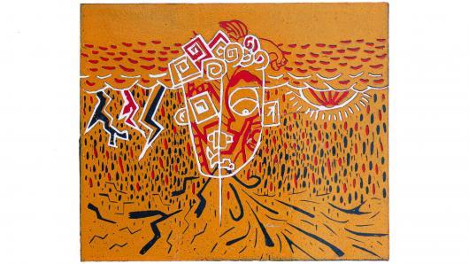 """Ukmergės meno mokyklos mokinių grafikos darbų paroda """"Grafika: linija, dėmė, spalva"""""""