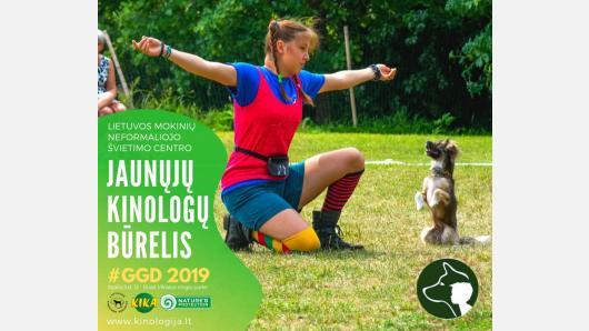 Jaunieji kinologai spalio 5 d. kviečia į Pasaulinės gyvūnų dienos renginius