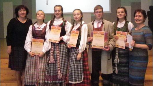 """Skelbiami etnokultūros projekto """"Tarmių lobynai"""" Dzūkijos regiono laimėtojai"""