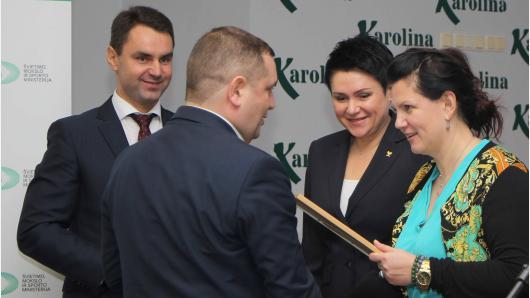 Apdovanotos savivaldybės, nugalėjusios Lietuvos mokyklų žaidynėse