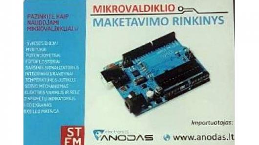 IT ugdymas 5–8 klasėse: išmaniosios grandinės su mikrovaldikliais