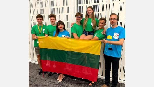 Vilniuje baigėsi pasaulinė fizikos olimpiada: lietuviai pelnė bronzos medalius