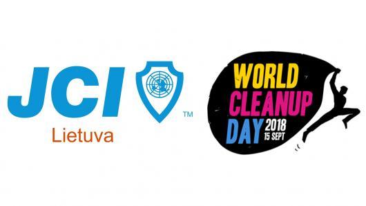 """Prisijunk prie didžiausios pasaulyje pilietinės iniciatyvos """"World Cleanup Day 2018"""""""