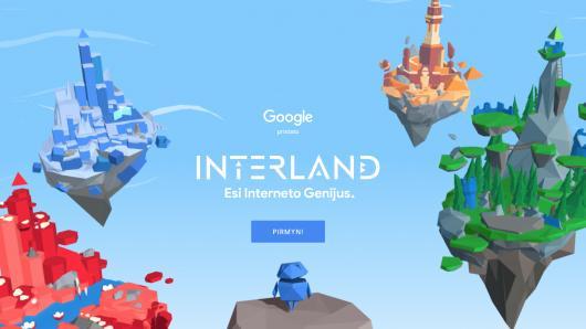 """""""Google"""" pristato ugdymo programą mokiniams, skirtą saugiam naršymui internete"""