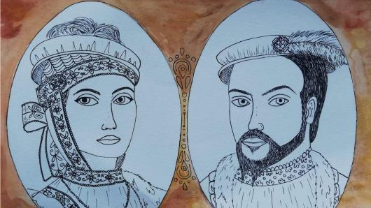 Istorinio portreto piešinių paroda