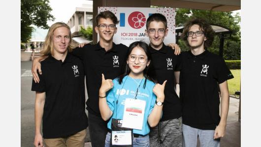 Informatikos olimpiadoje Japonijoje Lietuvos mokiniai laimėjo du sidabro ir vieną bronzos medalį