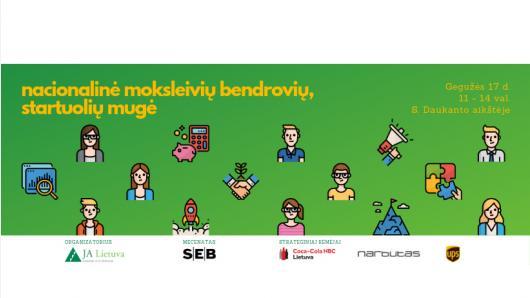 Lietuvos Junior Achievement kviečia į Nacionalinę moksleivių bendrovių, startuolių mugę 2019