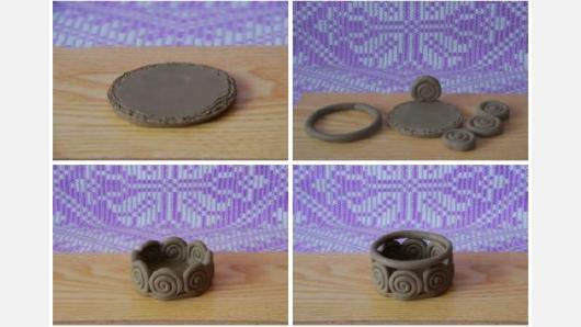 Lipdymas iš volelių – nesudėtinga, vaikams tinkanti keramikos technika