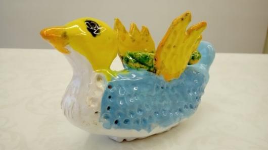 """Virtuali vaikų keramikos paroda """"Kalėdiniai pasikalbėjimai"""""""